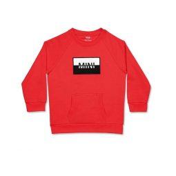 MINI gyerek feliratos pulóver